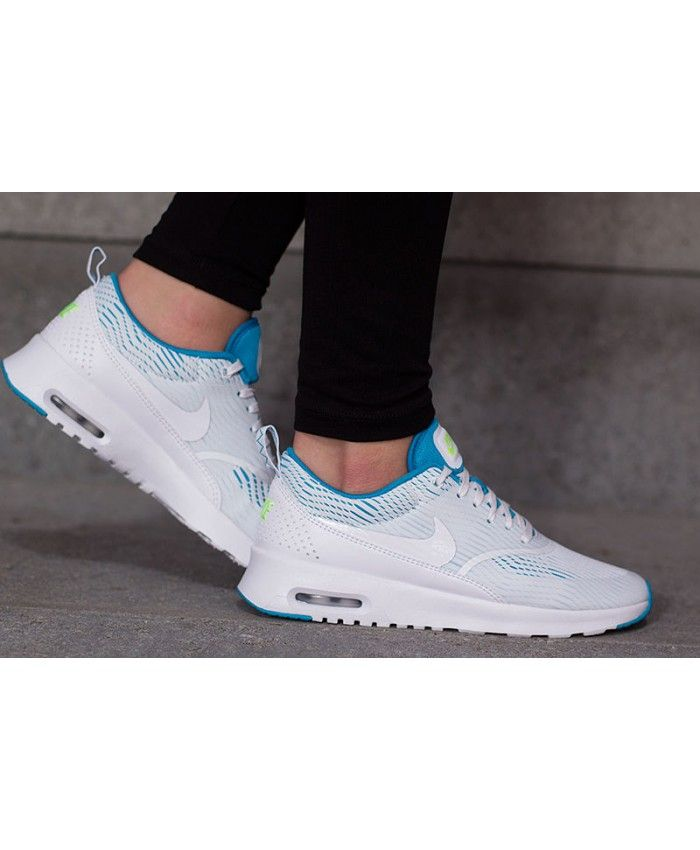 Nike Air Max Thea EM White/Blue Lagoon/Ghost Green Women's Shoes