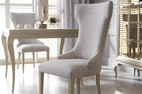Stół Klo, krzesło Queen, komoda Luna 3D