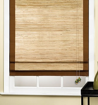 woven wood shades wood roman shades from select blinds matchstick blinds
