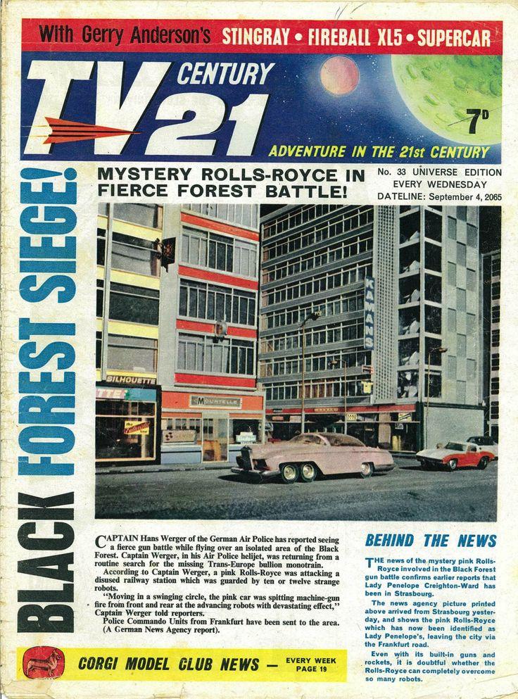 TV Century 21 issue number 33