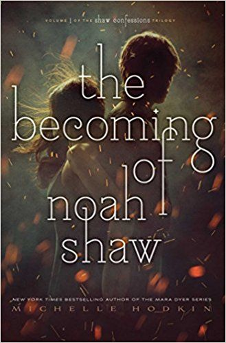 "The Becoming of Noah Shaw by Michelle Hodkin. ""After the murder of his father, Noah Shaw uses his inheritance to move to New York with his girlfriend Mara Dyer and their friends, where they investigate the suicides of other Carriers and their Gifts begin to lead them on diverging paths."" -- (Source of summary not specified)"