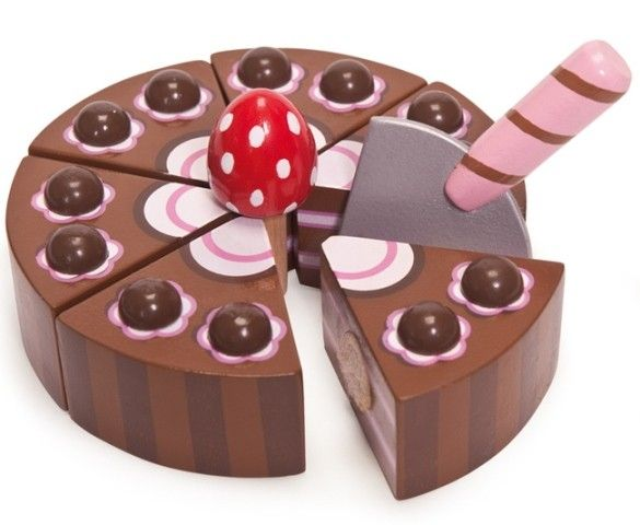 Le Toy Van   Honeybake Play Food Chocolate Cake