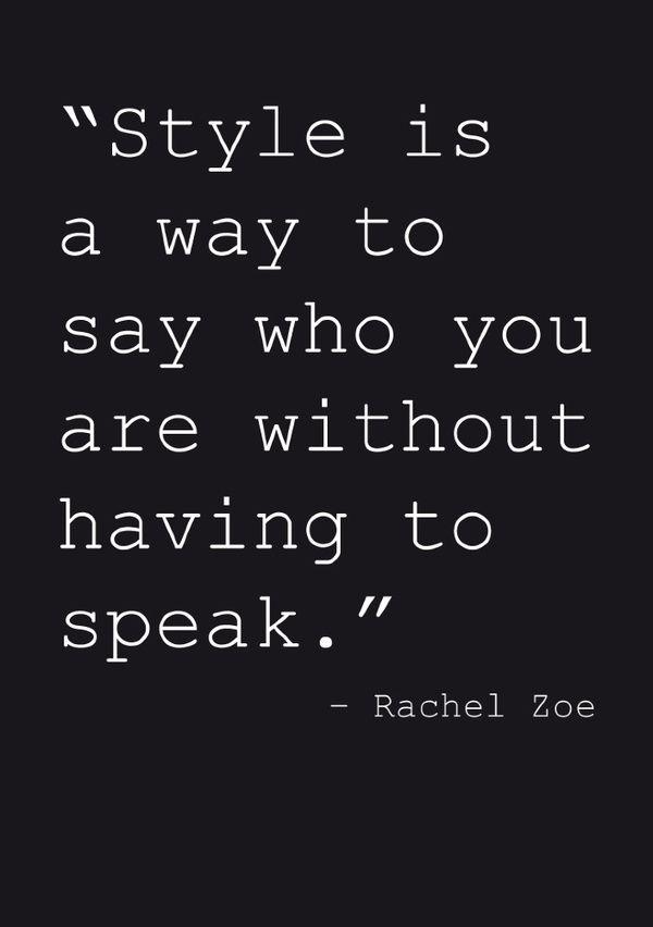 Stil ist... | #Stil #Zitat #Quote