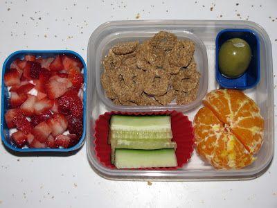 The Creative Habit: school lunch