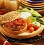 Another great Jenny recipe: Cajun Turkey Burgers. We love these! We put them on the 100 calories sandwich thins.