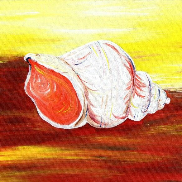 """I'm delighted to confirm that my """"Whacky Whelks"""" #ArtExhibition will run for another couple of weeks in the open art space at the Coastguard Cultural Center Love lane, #Tramore. www.hamersleyaer.com"""