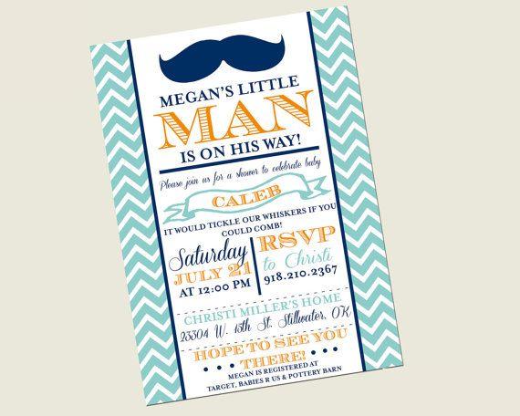 86 best Mustache Bash images – Little Man Mustache Party Invitations