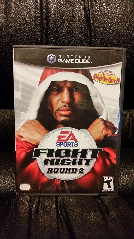 Fight Night: Round 2 (Nintendo GameCube, 2005) [No Manual]