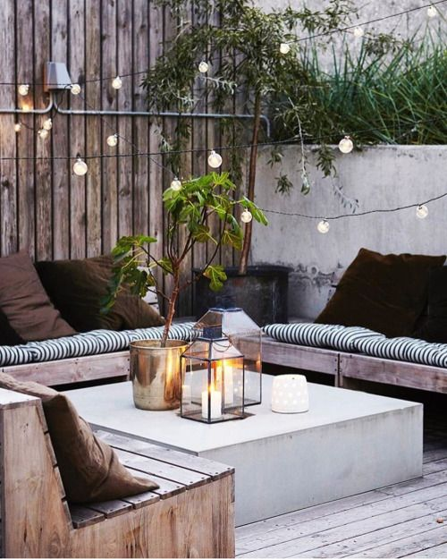 485 best images about decoracion patios balcones y for Patios y terrazas