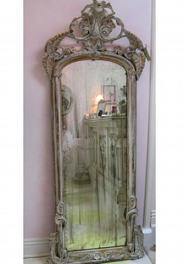 antique standing mirrors - Google Search
