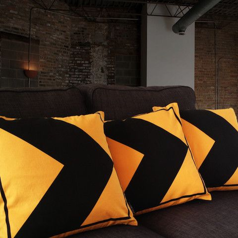 Big Love Friday Arrow Cushion > – Big Love Friday
