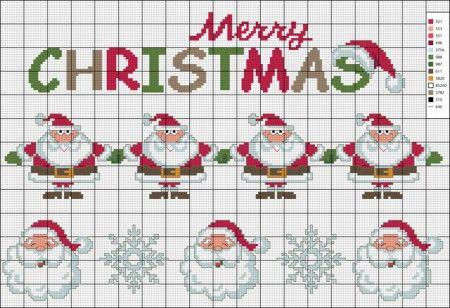 Schema gratuito per asciugapiatti natalizio