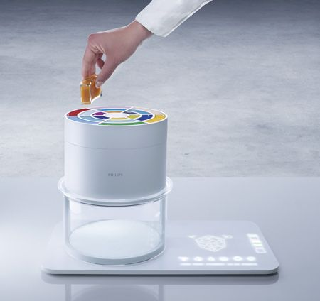 Food Probe by Philips Design. I like the mat base and other thing concept
