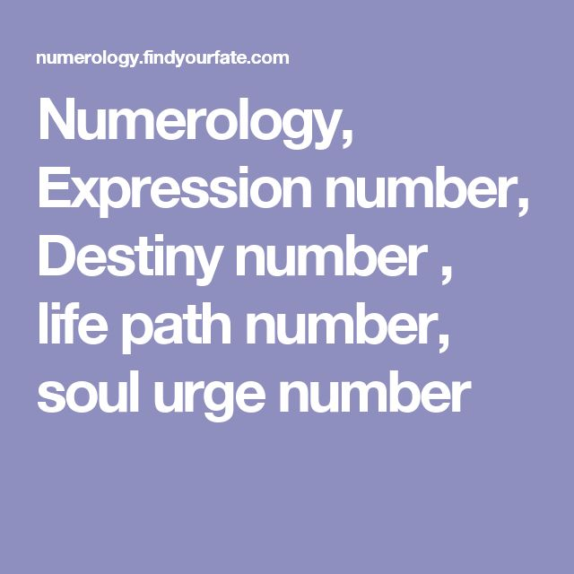 Expression Destiny Name Numerology Number Calculator ...