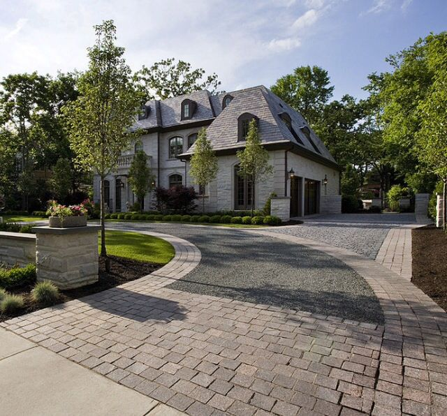 Home Driveway Design Ideas: 523 Best Driveway Landscaping And Curb Appeal Ideas Images
