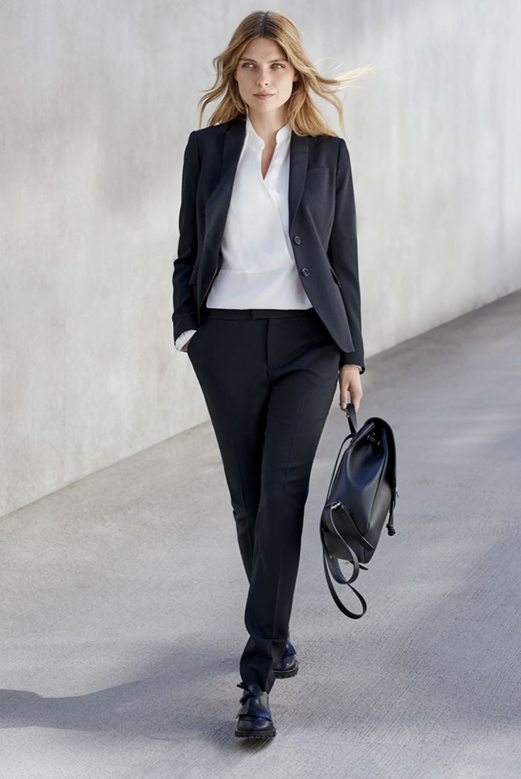 Work your look this fall The must-have: a stylish black suit. One of our favorites is this combination from TIGER OF SWEDEN. Read more on how to update your office look from stockmann.com/inspiroidu #stockmann #inspiroidu