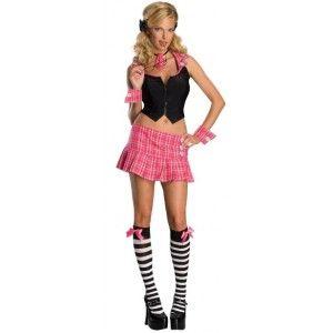 Costume écolière sexy femme, déguisement écolière sexy chic adulte. http://www.baiskadreams.com/1103-deguisement-ecoliere-sexy-adulte-deguisement-femme.html