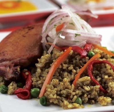 127 best peruvian food images on pinterest yummy food against arroz con pato forumfinder Images