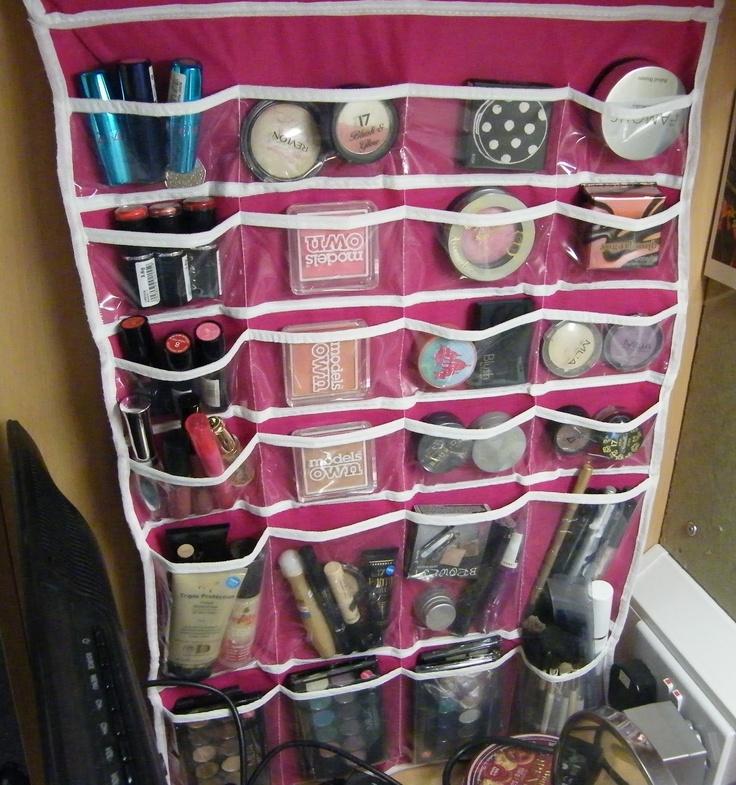 Cosmetics Storage Solutions | Pink Pom Poms Beauty: Make Shift Make Up  Storage