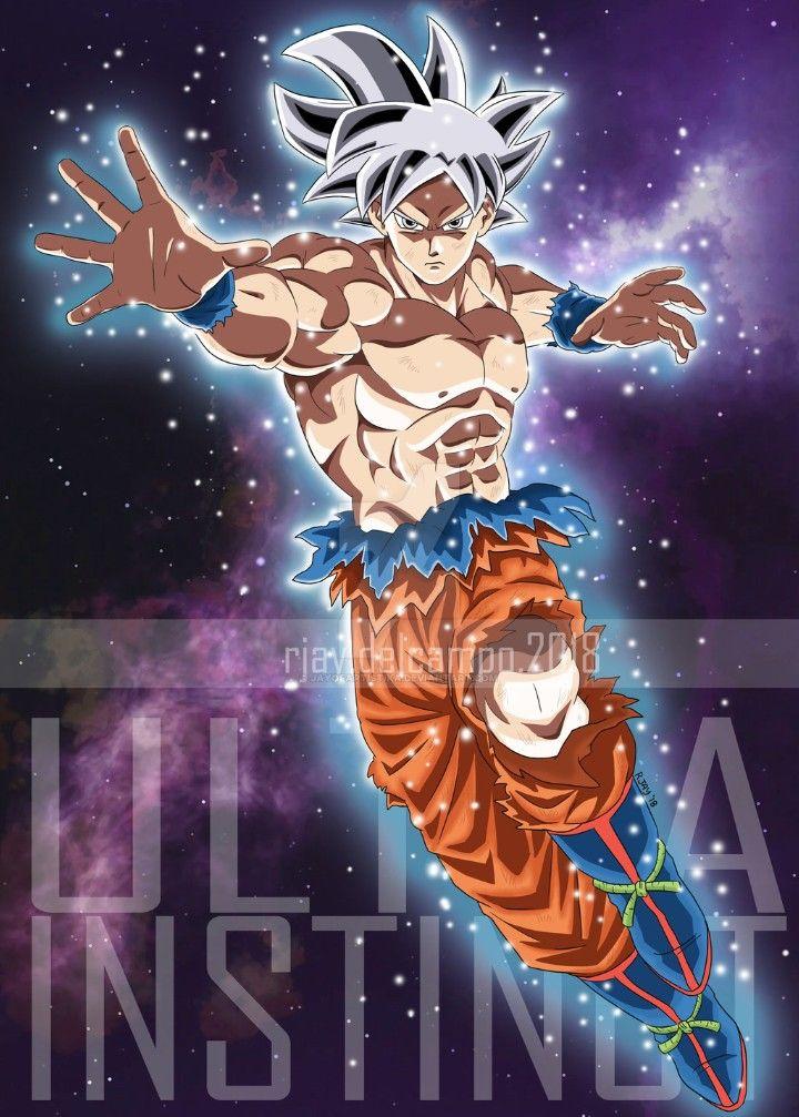 Goku Ultra Instinct Mastered Dragon Ball Super Dragon Ball Super Dragon Ball Z Anime