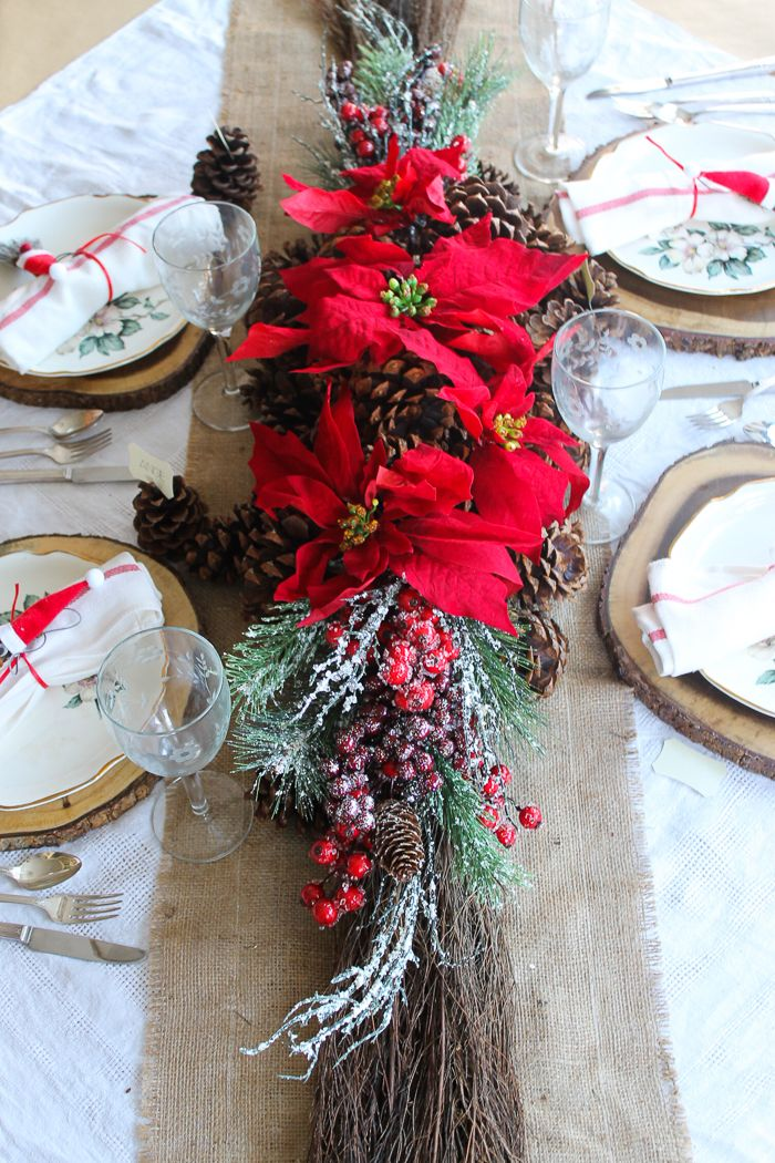 Table Decoration Ideas for Thanksgiving and Christmas Tablescapes