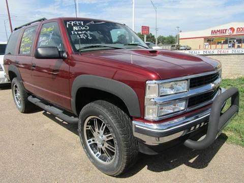 1999 Chevrolet Tahoe for sale at Scott Spady Motor Sales LLC in Hastings NE