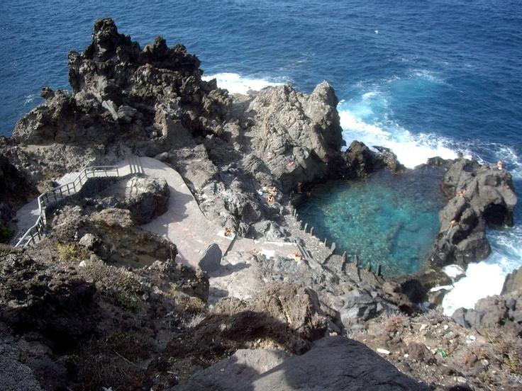 Piscinas naturales. Islas Canarias