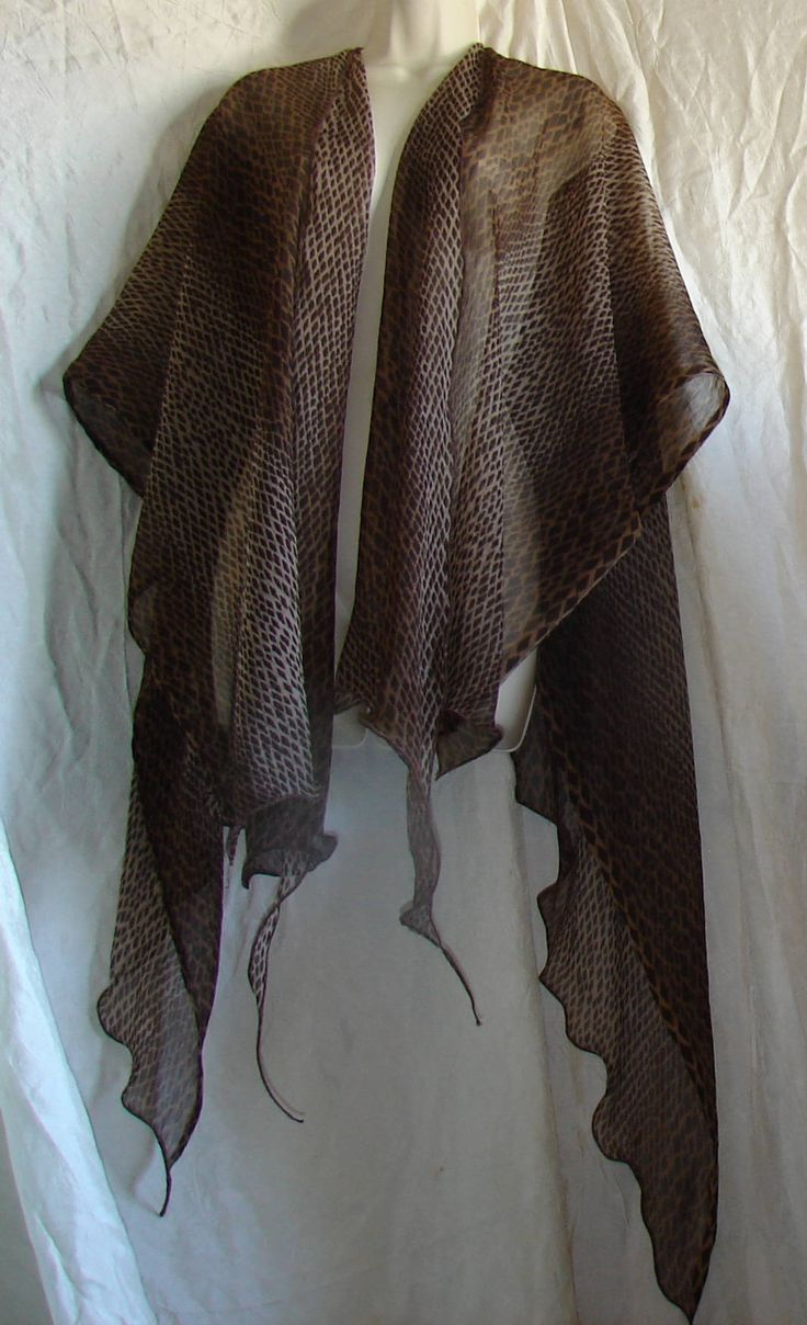 Filmy Open Front Shawl ruana shawls and wraps evening shawls lace shawl ruana wrap prayer shawl scarf shawl bridal shawl fantasy by WindyMountainDesigns on Etsy