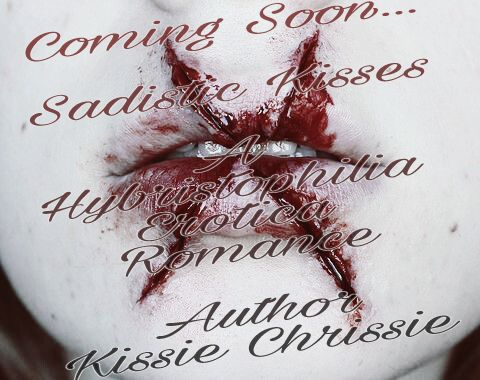 """Hybristophilia- An attraction to extremely violent criminals, or a person who has committed a gruesome crime.  """"Embrace the pain and find your pleasure."""" – Alisha  Deven I will free her. Show her that she is my other half. We will feed our dark fantasies while loving each other.   Contains material intended for 18+ Over 18,000+ words"""