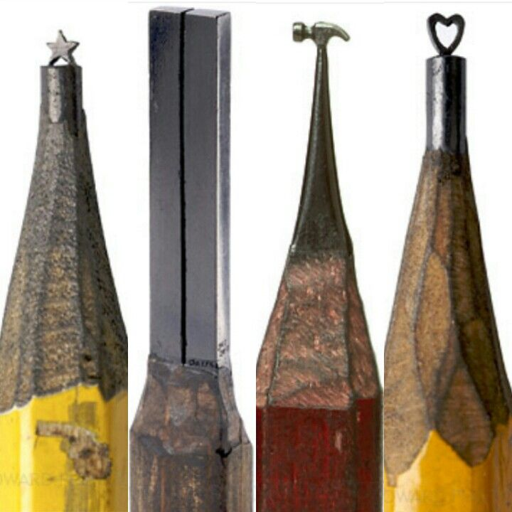 Best pencil carvings images on pinterest