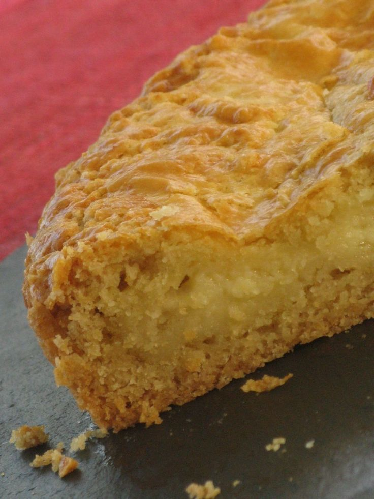 Gâteau Basque au Thermomix - Patio'nnement cuisine