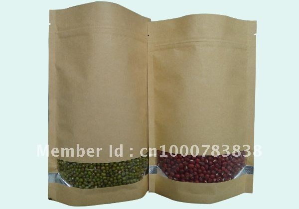 Aliexpress.com : Buy free shipping 140*210mm brown kraft paper Jerky pouch zipper lock packaging bags from Reliable kraft jerky bags suppliers on shenzhen ZC packaging products co.,ltd.