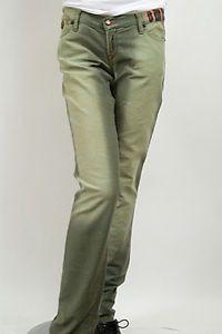 Sacred Blue Twiggy Womens Jeans Olive Size 25