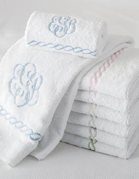 Monogram Towels.