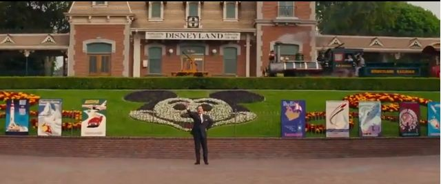Although technically not an old picture, it is Tom Hanks in a screenshot from the upcoming movie 'Saving Mr. Banks'.  (Makes a great Facebook banner!)
