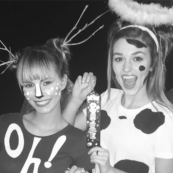 sadie robertson on instagram holy cow kelly we did it 103115 cow costumeshalloween - Jase Robertson Halloween Costume
