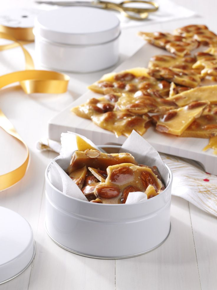 Spiced Almond Brittle Recipe from Taste of Home