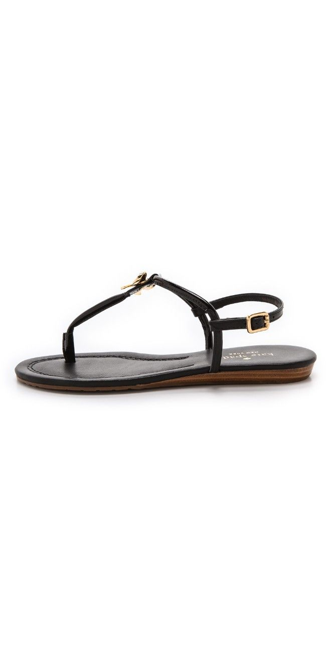 Kate Spade New York Tracie Bow Thong Sandals | 15% off first app purchase with code: 15FORYOU