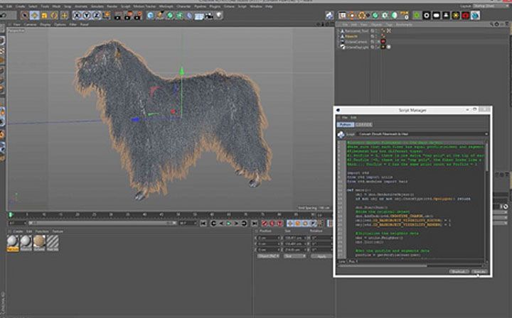 CG Generalist and motion designer, Shawn Wang shares his script hat can covert ZBrush FiberMesh to Cinema 4D Hair Objects.