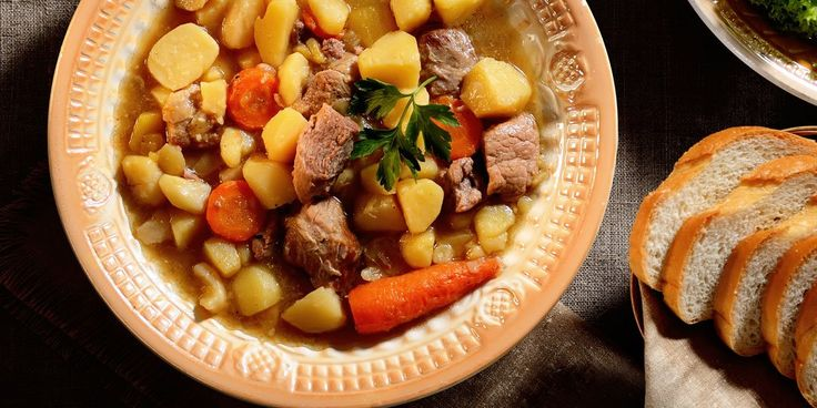 Σούπα με μοσχάρι και πατάτες