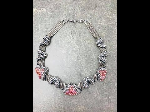 Fire & Ice necklace - YouTube