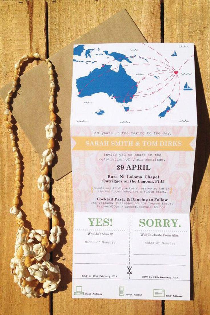 travel themed wedding stationery bridesmagazinecouk - Travel Themed Wedding Invitations