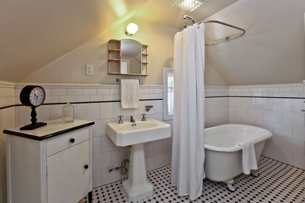 63 Best Images About Attic Bathroom Sloped Ceiling On