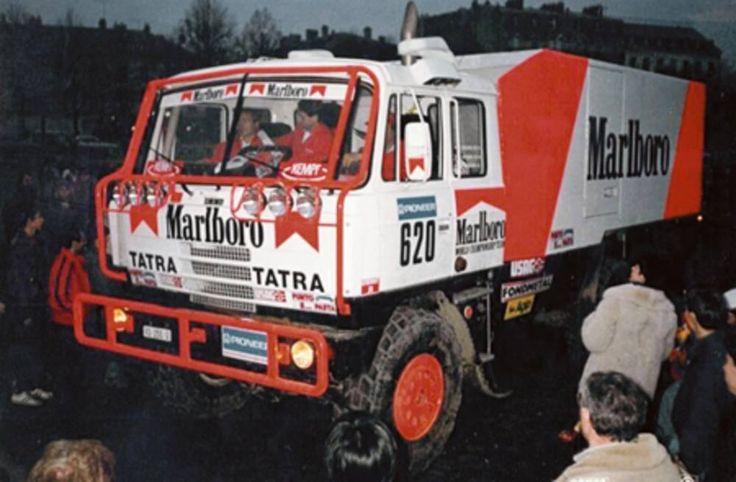 Ilustrační obrázek ke článku Když hvězda Formule 1 Regazzoni osedlala speciál Tatra