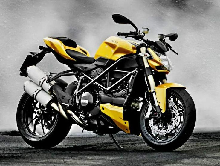 2014 Ducati Streetfighter 848 Yellow