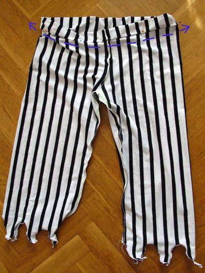 Pantalon pirate Déguisement 4 ans, Patron couture gratuit