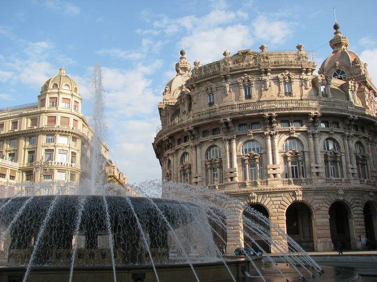 https://flic.kr/p/RHgwQQ | Genova: la fontana di piazza De Ferrari