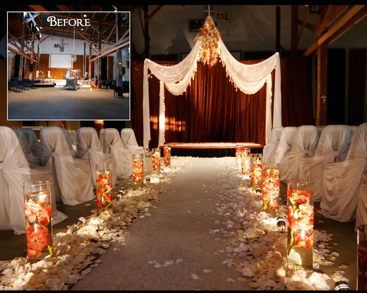 21 best church images on pinterest altar church weddings and aisle decorations candlelight weddingwedding ceremony junglespirit Images