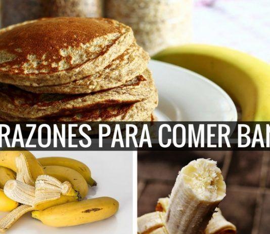 10 Razones para Comer Banana o Cambur Todos Los Días