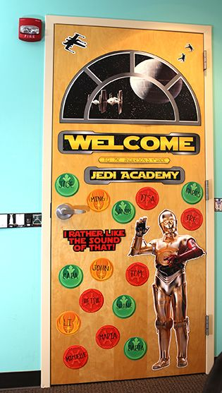 Star Wars Door Decorations  Classroom Decor theme and ideas